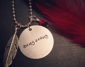 Hook Rufio and Lost Boys Inspired Handmade Necklace