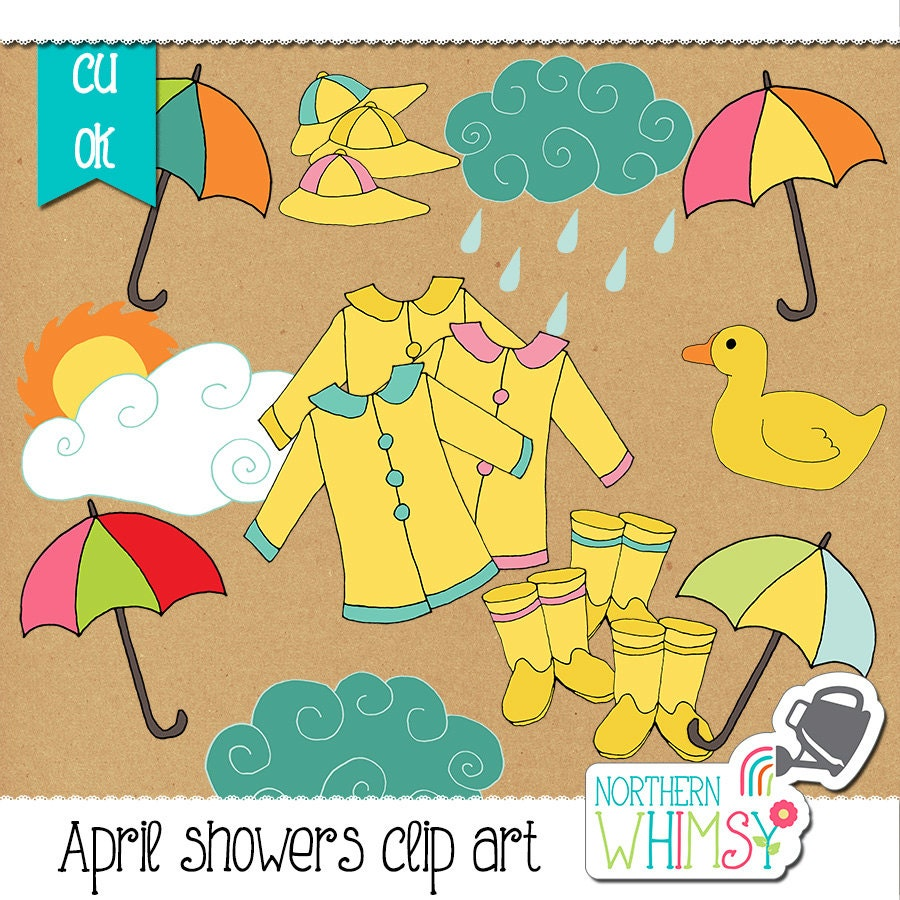 clipart spring showers - photo #33