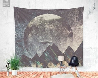 Sweet dreams mountain - Wall tapestry - Tapestry - Boho - Wall Hangings - Mountain tapestry - Wanderlust - Nature - Bohemian - Dorm decor