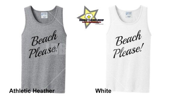 Beach Please Tank Tops