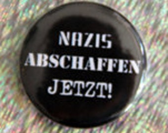 button, badge, pin nazis get rid now