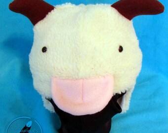 Poros Fuzzy Animal Hat
