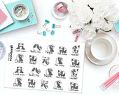 CAN'T EVEN PANDAS Paper Planner Stickers!