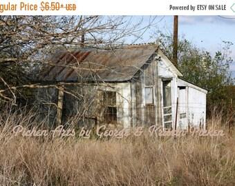 Save 30% Fine Art Old Rural Texas Farmhouse