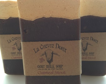 Oatmeal Stout Beer & Goat Milk Soap