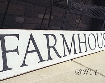 Farmhouse Sign / Farmhouse Decor / French Country Kitchen / Large Farmhouse Kitchen/ Farmhouse sign/ Rustic signs