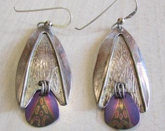 Sterling Silver Beautiful Dangle Earrings