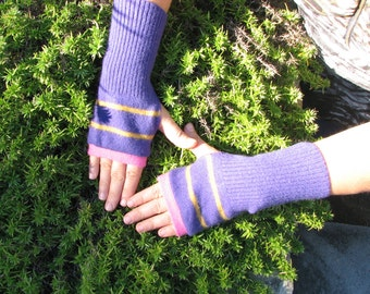 Cashmere Gloves - Fingerless Cashmere Gloves