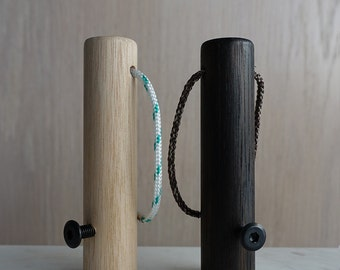 Pop! Wood Bottle Opener made from Tasmanian Oak with a Rope Cord