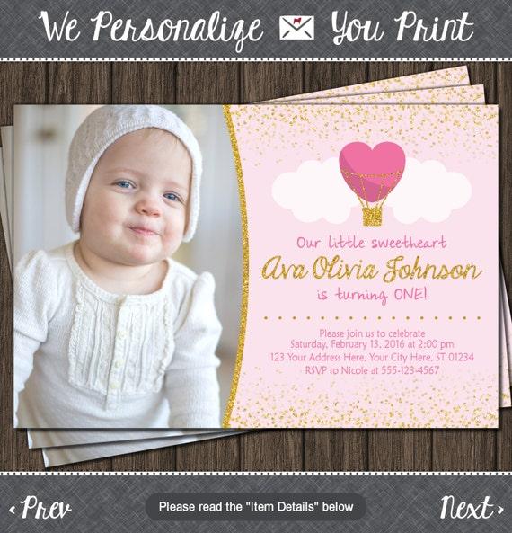 Valentine birthday invitation valentines first birthday il570xn filmwisefo