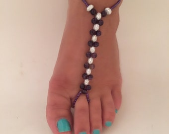 Barefoot Sandal, Purple