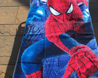 Spider-Man WEB Shooter Beach Towel Spidey - Personalized Beach Towel