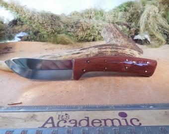 Eric's Oregon Elk Skinning Knife Redwood Handles