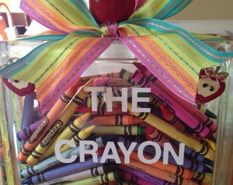 TEACHER CRAYON BOX