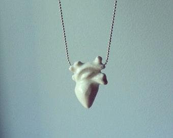 Porcelain Heart necklace