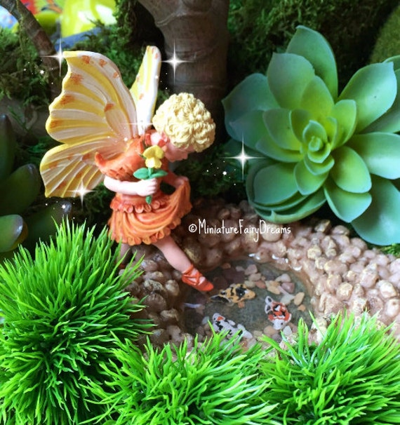Terrific Fairy Garden Pond Miniature Pond Miniature Fish Fairy Garden  With Interesting Get Shipping Estimate With Cool  Again Garden Also Tub Water Garden In Addition Clydeside Garden Sheds And Vegetable Garden Raised Beds As Well As How Can I Stop Cats Fouling My Garden Additionally Garden Care From Etsystudiocom With   Interesting Fairy Garden Pond Miniature Pond Miniature Fish Fairy Garden  With Cool Get Shipping Estimate And Terrific  Again Garden Also Tub Water Garden In Addition Clydeside Garden Sheds From Etsystudiocom