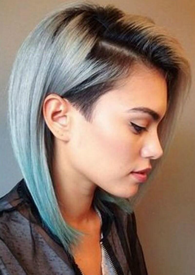 Стильные причёски для девушек с средними волосами
