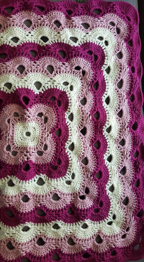 Virus Blanket Crochet Baby by SpecialMadeJust4You on Etsy