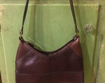 Vintage Aigner Bag, Brown Shoulder Bag, Etienne Aigner Bag, Leather Shoulder Bag, Brown Handbag, Aigner Purse, Etienne Aigner