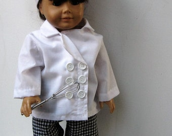 Chef Outfit forAmerican Girl Doll