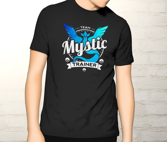 Pokemon Trainer Tee - Team Mystic T-shirt - Pokemon Go