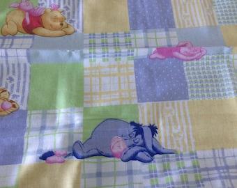 Winnie the Pooh on Pastel Library Bag, Swim Bag, etc