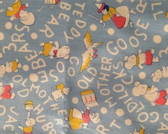 Mother Goose Nursery Rhyme Library Bag, Swim Bag, etc