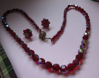 1960 Glass Bead Necklace