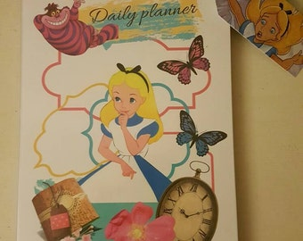 Alice in wonderland daily planner