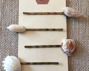 Seashell Hairpin Sets