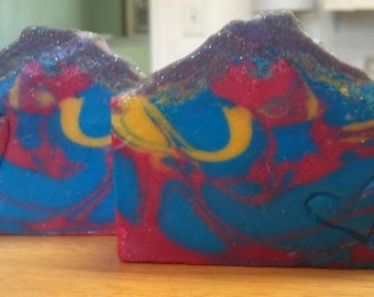 SULTANA of SOAP LUSH type Cocoa Butter Soap