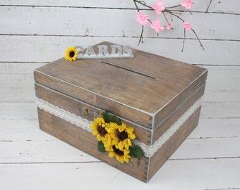 Wedding Card Box, Rustic Wedding Card Box, Rustic Card Box, Rustic Weddings, Advice Box, Card Box, Wedding Gift, Personalised Wedding Gift