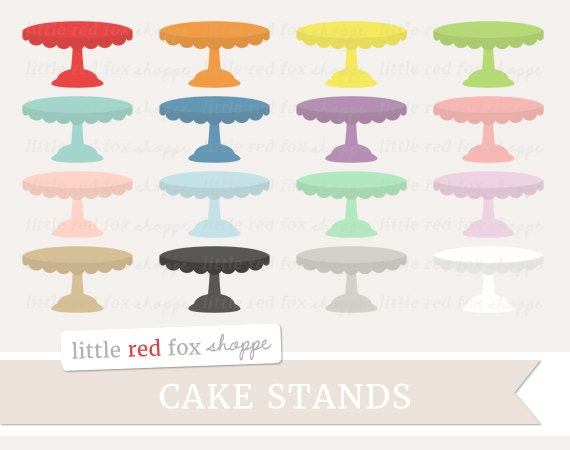 Cake Stand Kitchen Art : Cake Stand Clipart Cake Clip Art Baking Kitchen Bakery