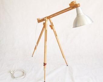 Repurposed Artist Easel Lamp