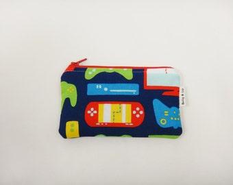 Gamer Wallet, Kids Wallet, Kids Coin Purse, Toddler Wallet, Children's Wallet, Coin Pouch
