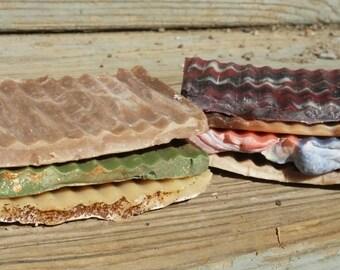 Goat Milk Soap Samples, Guest Soap, Travel Soap, Soap Sampler