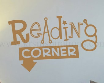 Reading Corner wall decal