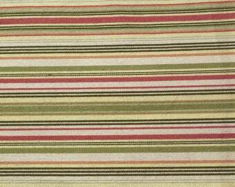 Yellow Green Pink Stripe