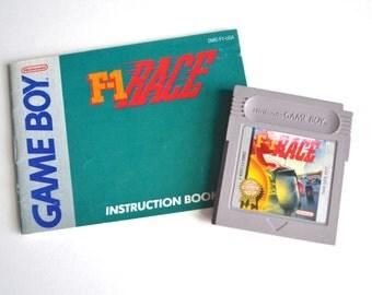 F1 Race For The Original Nintendo Game Boy