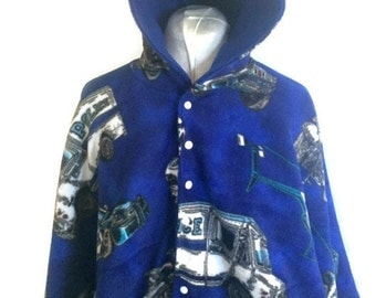 Baby Shower Gift - Infant Car Seat Poncho - Baby Car Seat Poncho - Toddler Car Seat Poncho - Police Car Seat Poncho - Hooded Fleece Poncho
