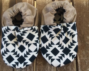 Aztec Sand Baby Shoes