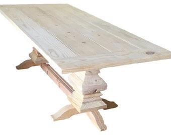 DIY Fancy Farm table