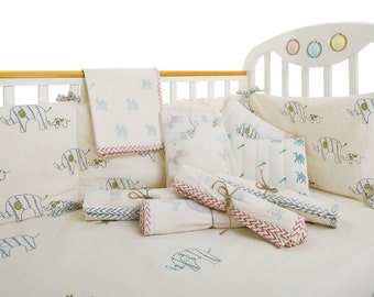 100% Organic Cotton Swaddle Blankets