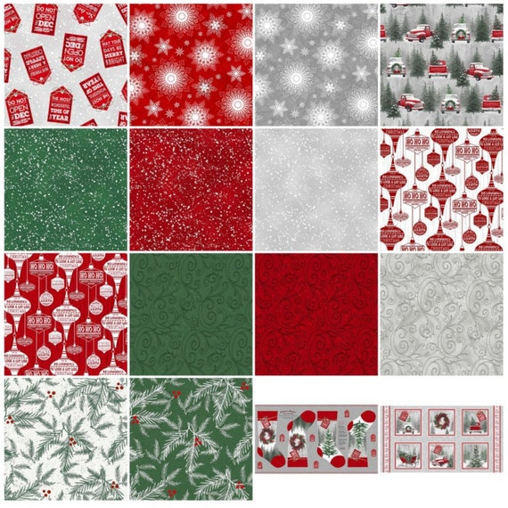 Holiday Traditions Christmas Fabric By Jan Shade Beach