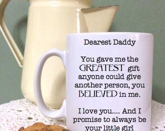 Dearest Daddy Mug