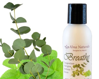 Breathe Blend with Essential Oils