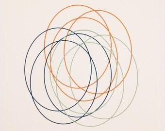 Circles - orange, blue, green