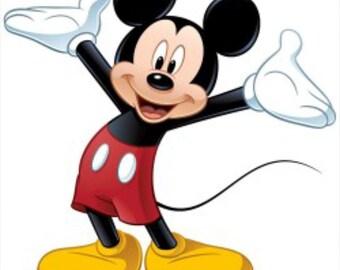 Custom Mickey Mouse shorts