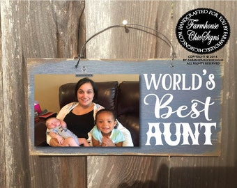 gift for aunt aunt gift aunt worlds best aunt aunt picture frame christmas gift for aunt birthday gift for aunt aunt frame 39