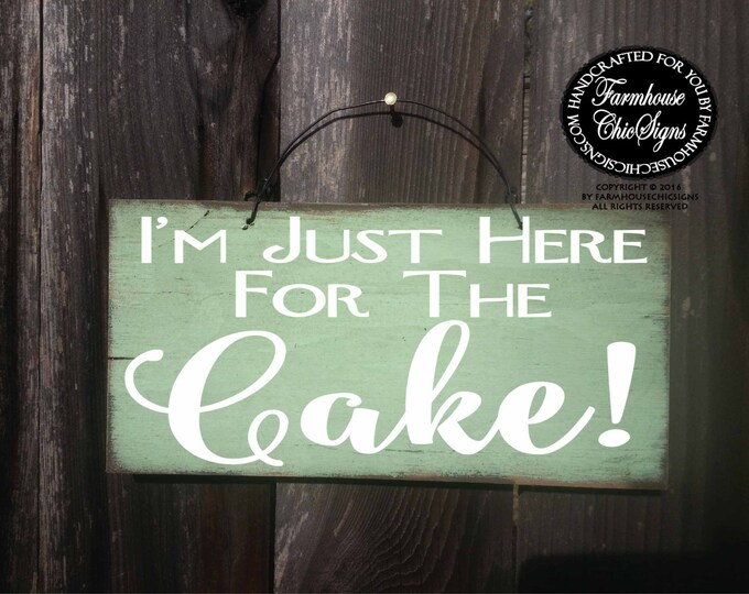 ring bearer sign, I am just here for the cake sign, wedding sign, wedding, wedding decor, wedding decor, cake sign, ring bearer sign, 240